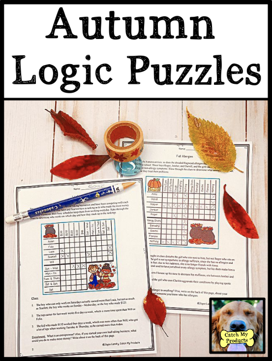 Fall Logic Puzzles