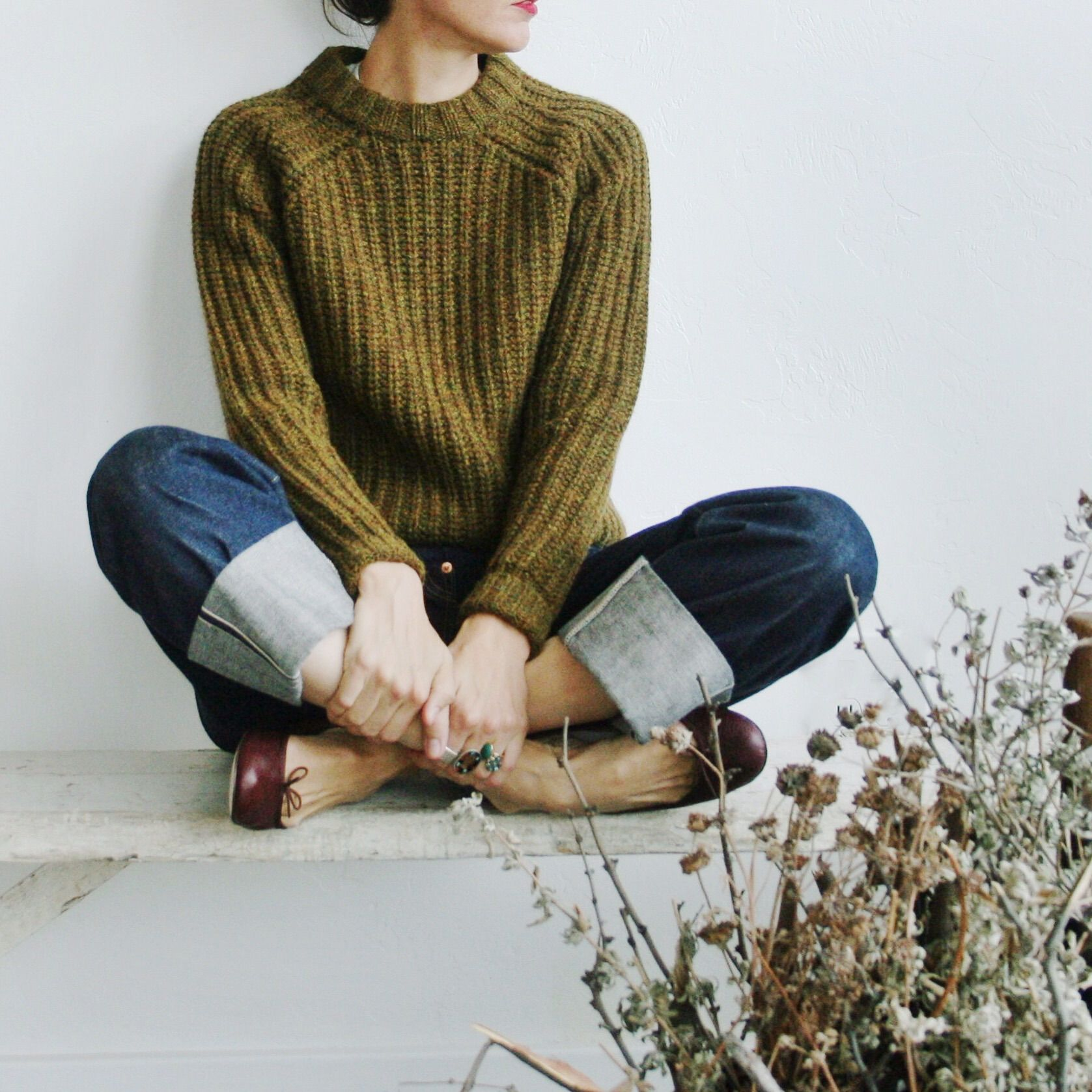 LVC sweater, 1933 501's, dark brown Repettos | lè wardrobe siorée ...