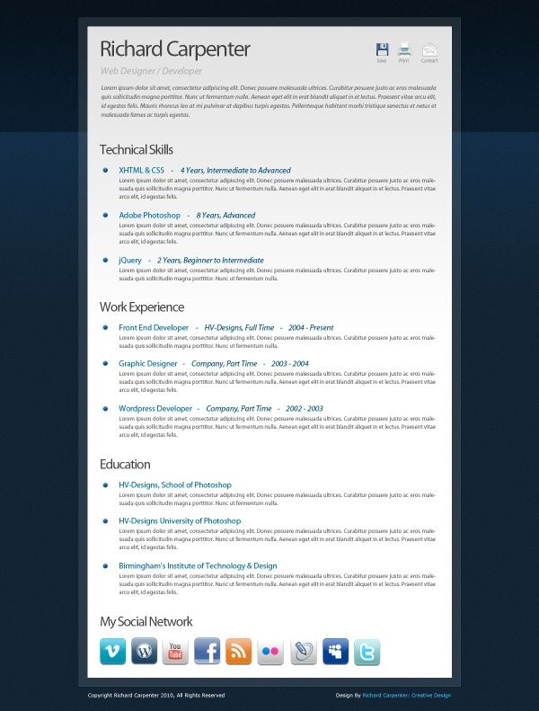 see a resume resume templates Pinterest