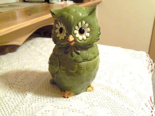 Owl Cookie Jar made in Japan by Josef Originals