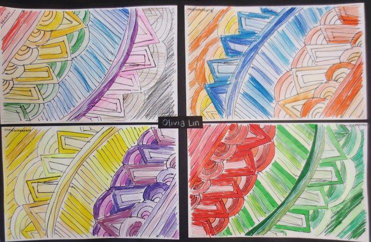 Art Rhythm Drawings