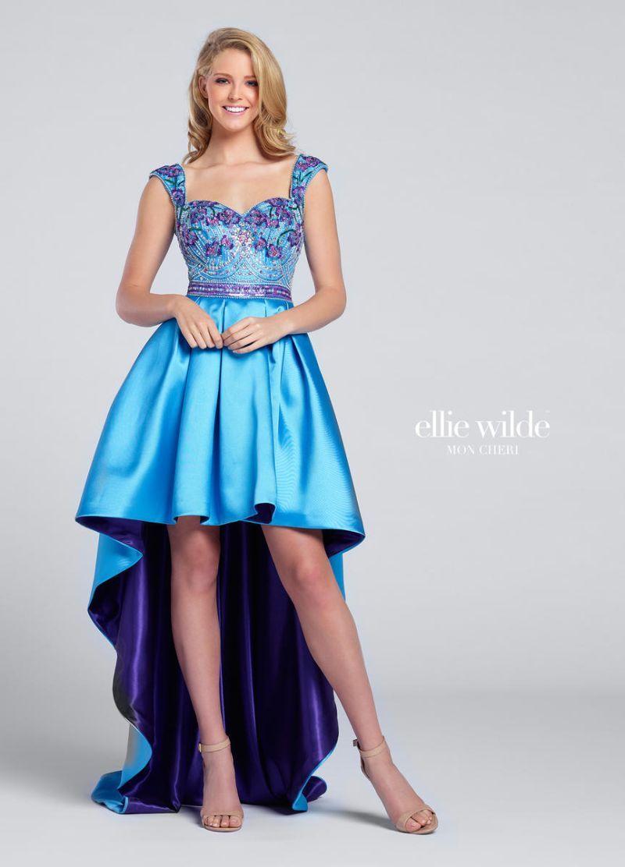 Ellie Wilde for Mon Cheri EW117164 is a high low Mikado Ellie Wilde ...
