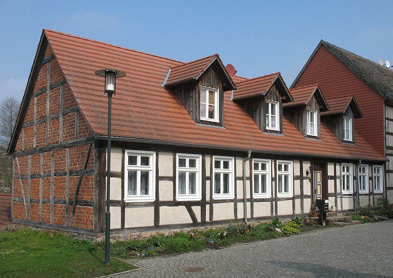 Wohnhaus Ernst-Thälmann-Straße 2 in Putlitz in Brandenburg, Deutschland