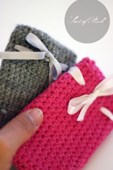 [ DIY Cell Phone Case ] I'm determined to learn how to crochet!