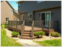Http Www Mobilehomereplacementsupplies Com Mobilehomeexteriorsteps Php Has Some Much Needed Info On What Types Of Prefa Decks Backyard Backyard Deck Pictures