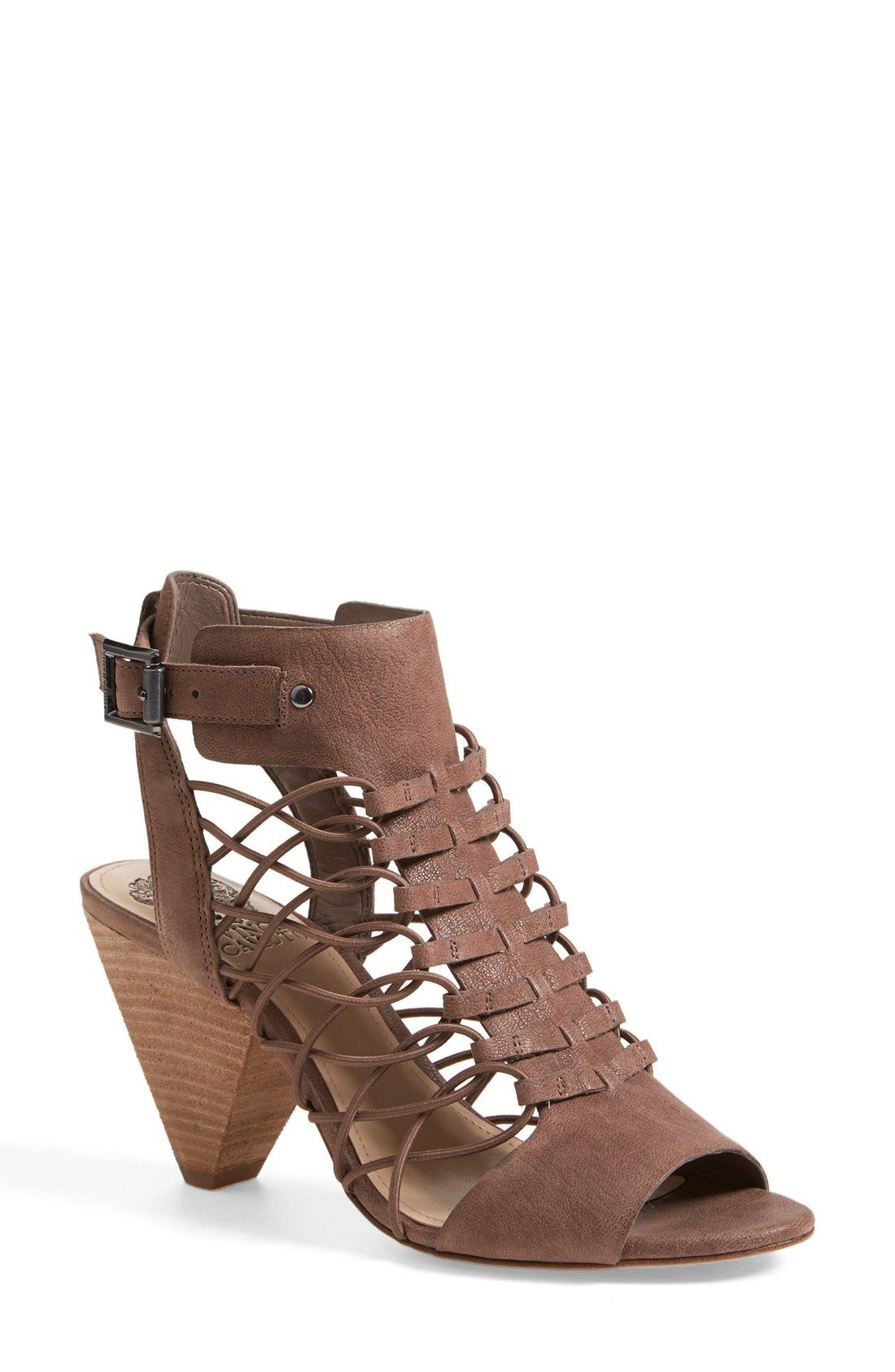 Free shipping and returns on Vince Camuto  Evel  Leather Sandal (Women) ( Nordstrom Exclusive) at Nordstrom.com. A summer-staple huarache-inspired  sandal is ... fde4c88ac