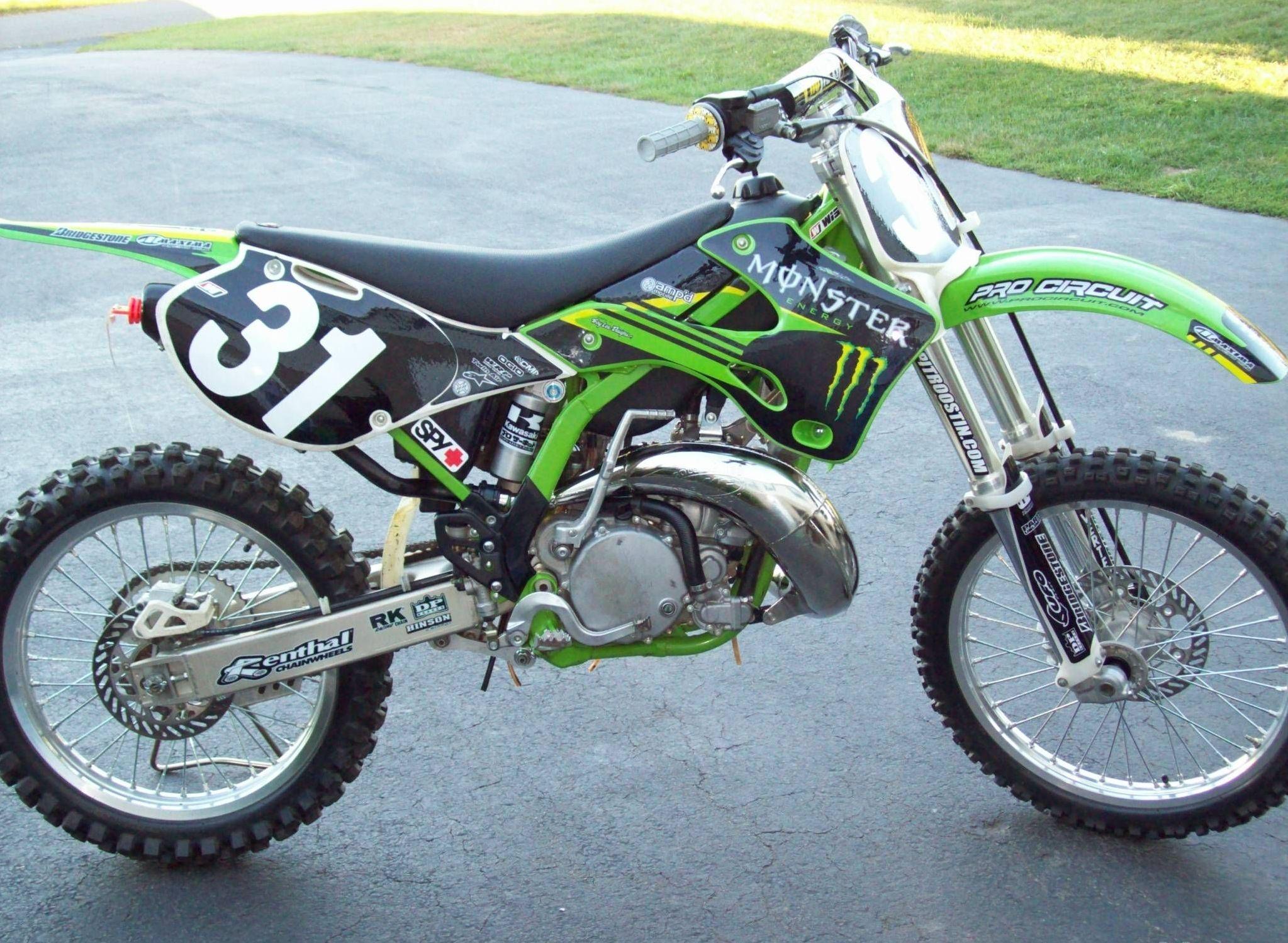 motocross kawasaki 250