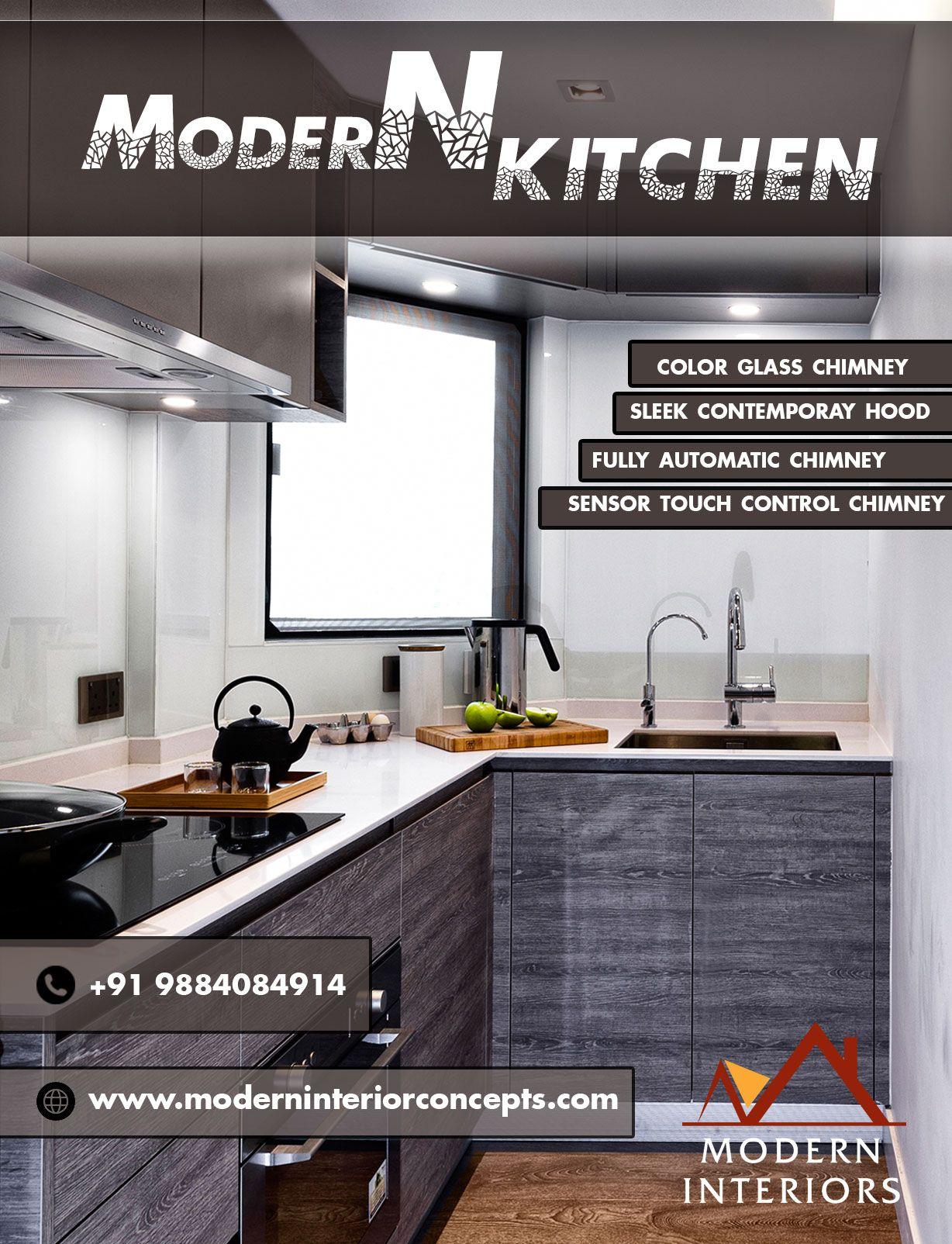 Cost of Interior Design in Chennai | Kitchen cost ...