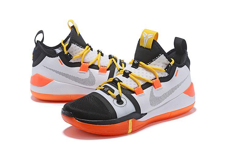 c13d6038a09e Nike Kobe AD Black White-Yellow-Orange Hot Sale only  98 today!