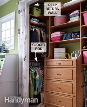 Build A Low Cost Custom Closet Closet Remodel Deep Closet Closet Designs