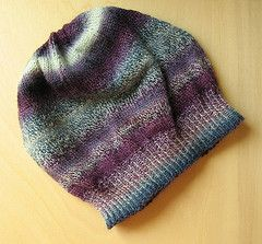 Ravelry  Sock Yarn Slouch hat pattern by Sandra Bichlmayer  86555621572