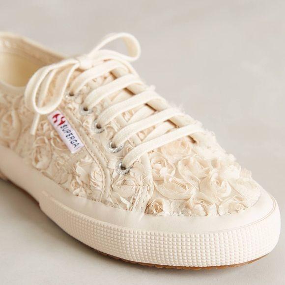 Bridal Superga sneakers floral