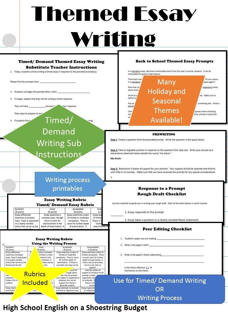 Teaching timed essay writing professional school essay writers service