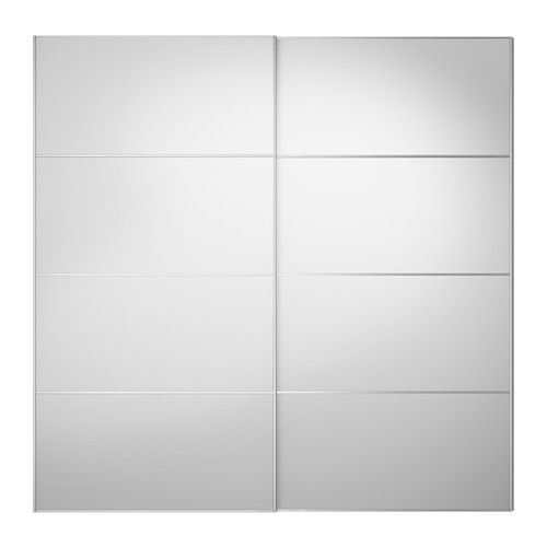 AULI Skydedørspar - -, 200x201 cm - IKEA