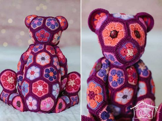 African Crochet Flower Pattern Projects Crochet Flower Patterns