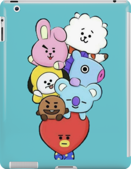 Bt21 Ipad Snap Case by afatim