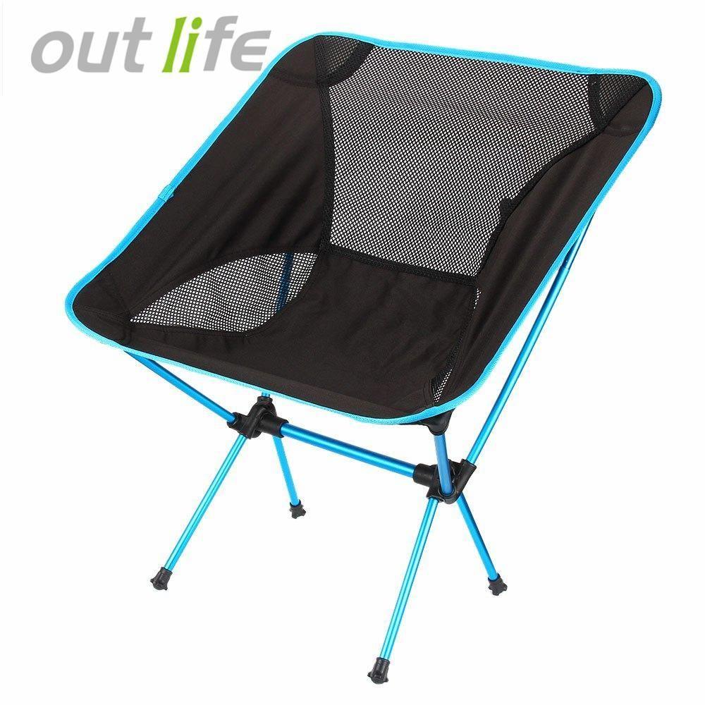 Mesh Lightweight Outdoor Folding Chair in 2020 Fishing