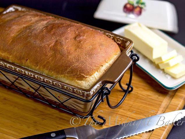 Homemade Amish White Bread Recipe