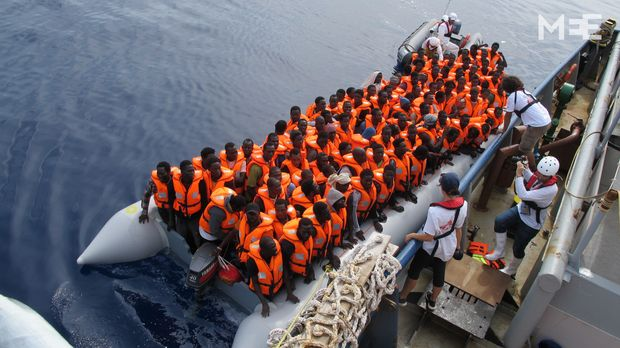 'Thank you for saving my life': Aboard a refugee rescue ship off Libya