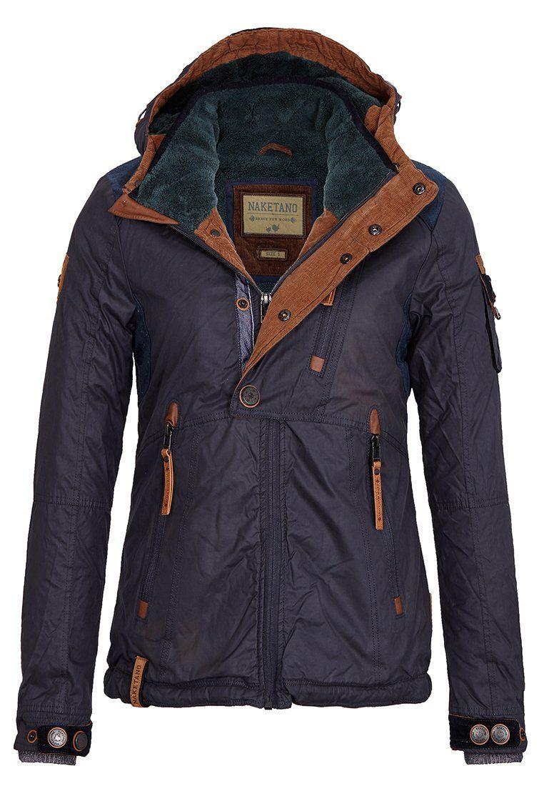 Naketano Between Seasons Jacket dark blue dark grey