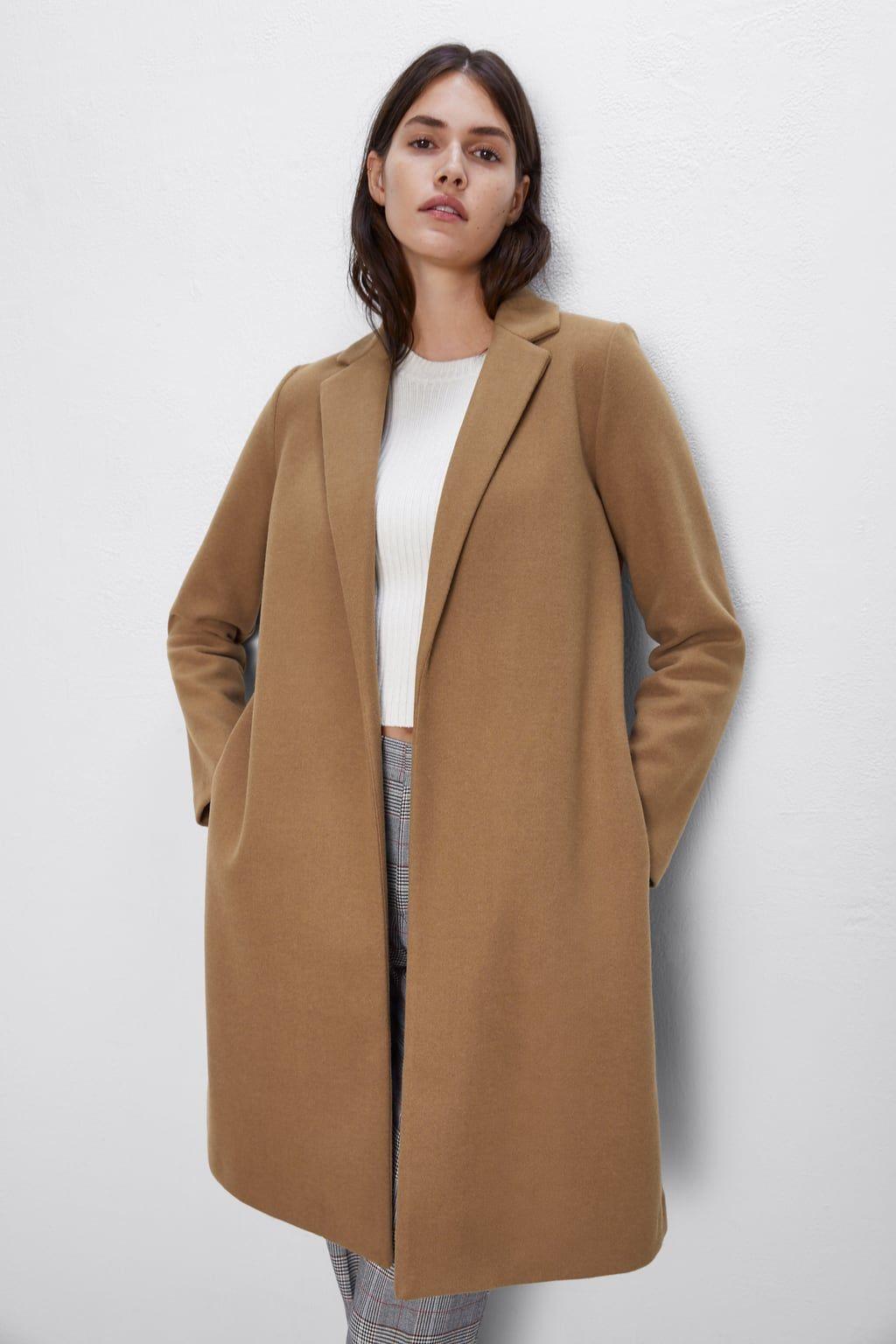 Basic Coat View All Coats Woman Zara United States Coat Winter Fashion Outfits Coat Fashion