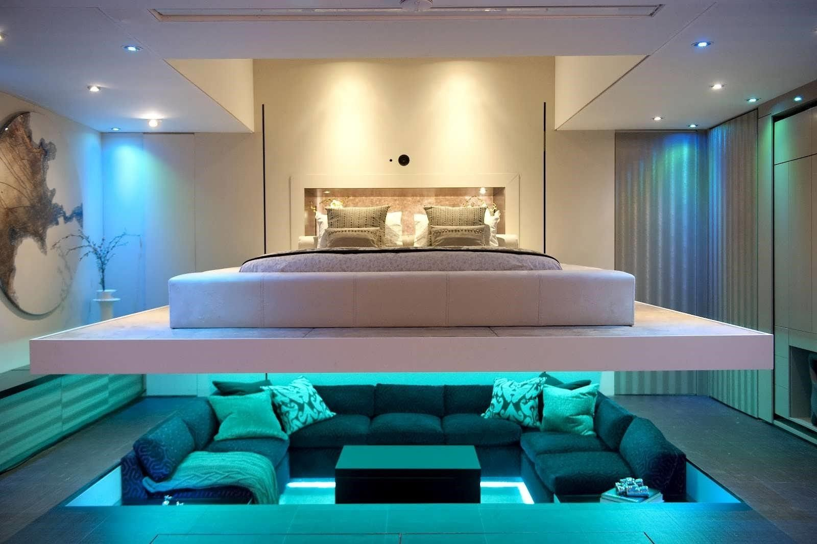 Best Pin By Total Apriltello Fan On Homes Futuristic Bedroom 400 x 300