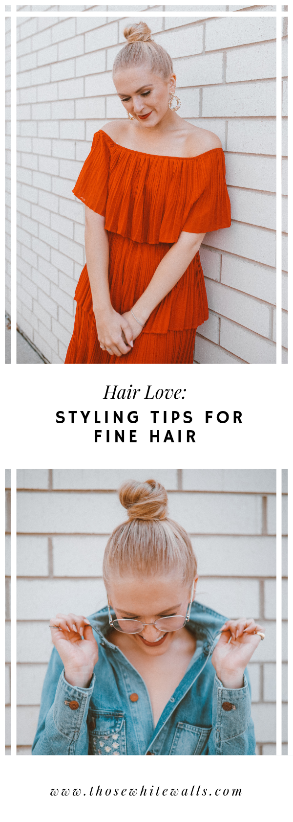Styling Tips For Fine Hair Fine Hair How To Make Hair Hair