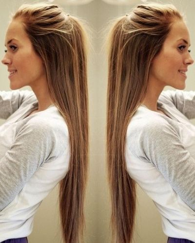 20 Awesome And Simple Hairstyles For Long Hair Styles At Life Easy Hairstyles For Long Hair Long Hair Styles Hair Styles
