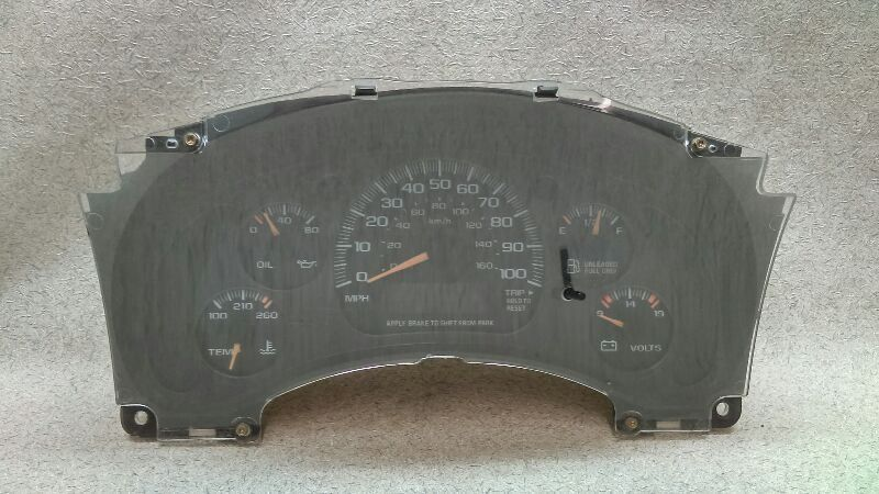 Speedometer Instrument Cluster 16255825 Fits 00 05 Chevrolet Astro Van F123 Chevrolet Car Parts And Accessories Car Parts Car