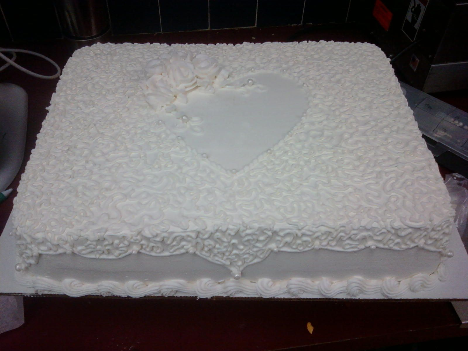 Turn Costco Sheet Cake To Wedding Cake