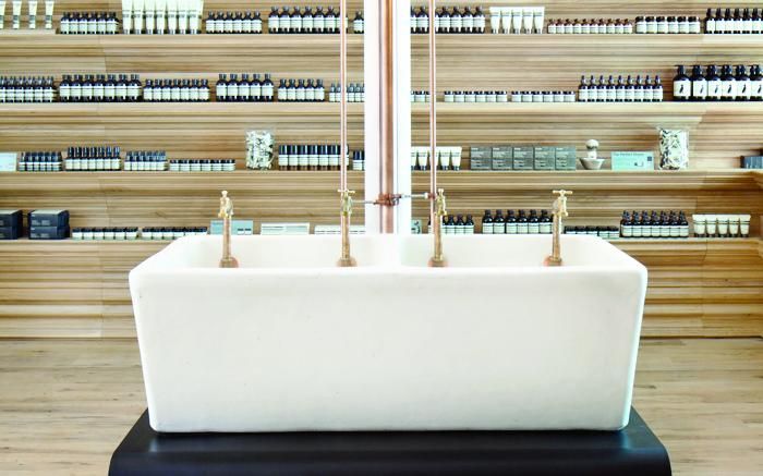 Aesop Newbury Street Boston Salon Interior DesignInterior ShopBeauty