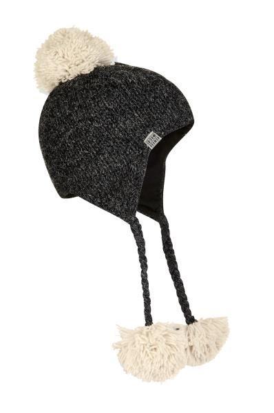 Elo Hat - Oatmeal/Burnt Red
