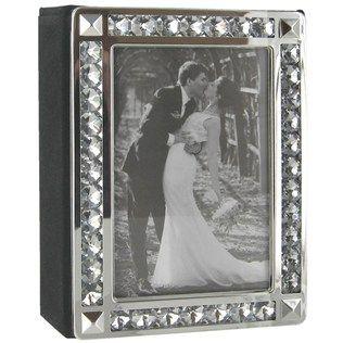 Silver Diamond Photo Album Art Craft Store Bling Wedding Wedding Shop