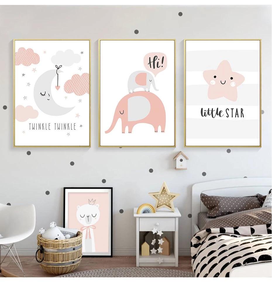 Print Baby S Bedroom Wall Art Decor