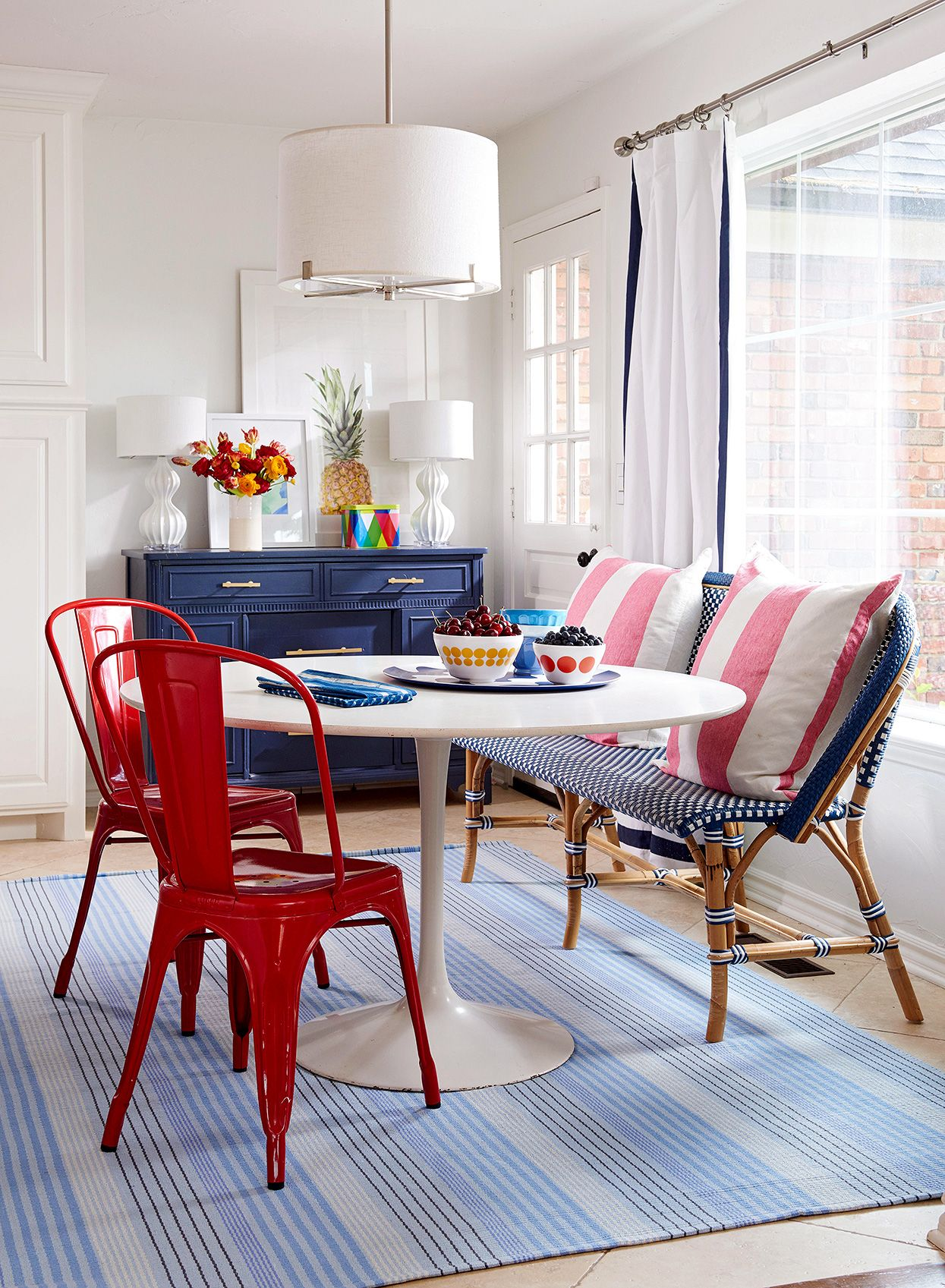 Here Are the Best Ways to Decorate with Red, White, and