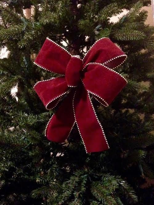 Small Christmas Bow Burgundy Merlot Mini Bow Burgundy Wreath Bow Small Ornament Bows Handmade Holiday Bows Small Handmade Holiday Gift Bows Christmas Bows