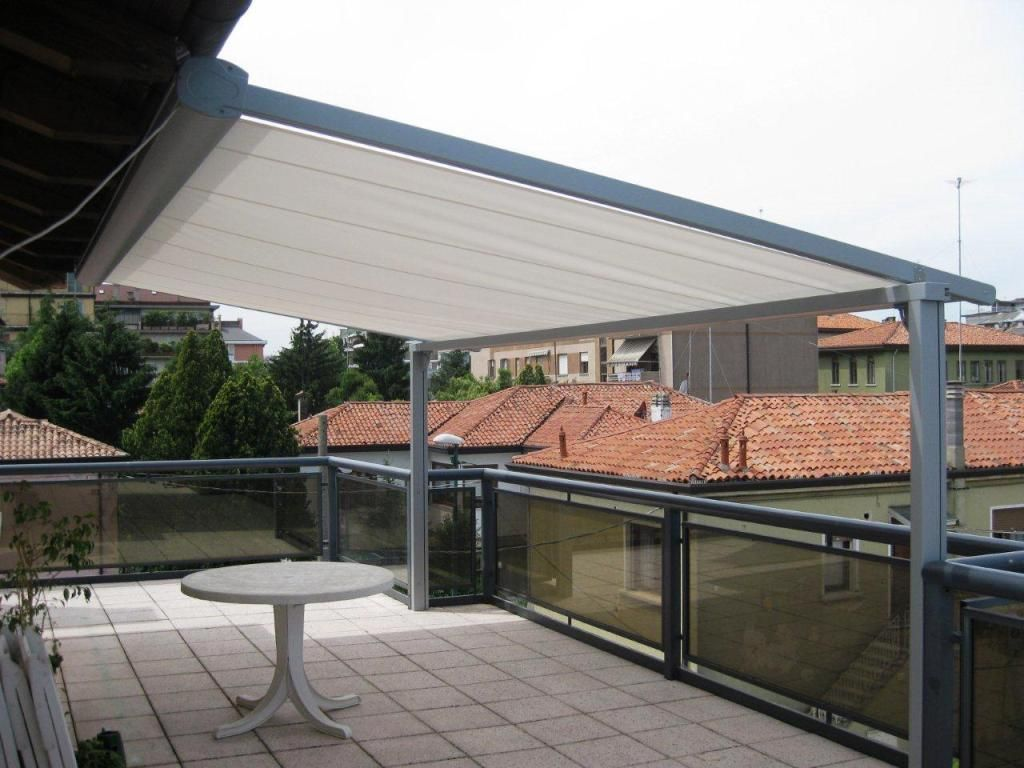 Accesories U0026 Decors,Retractable Pergola Roof Sheet For Porch Ideas And  Pergola Cover Designs For Balcony Awning Ideas Added White Pedestal Table  Furnishing ...
