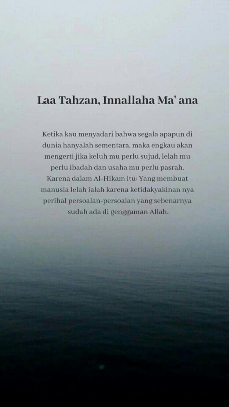 Pin Oleh Fatimah Azahra Di Quotes Kata Kata Indah Kutipan Agama Kutipan Pelajaran Hidup