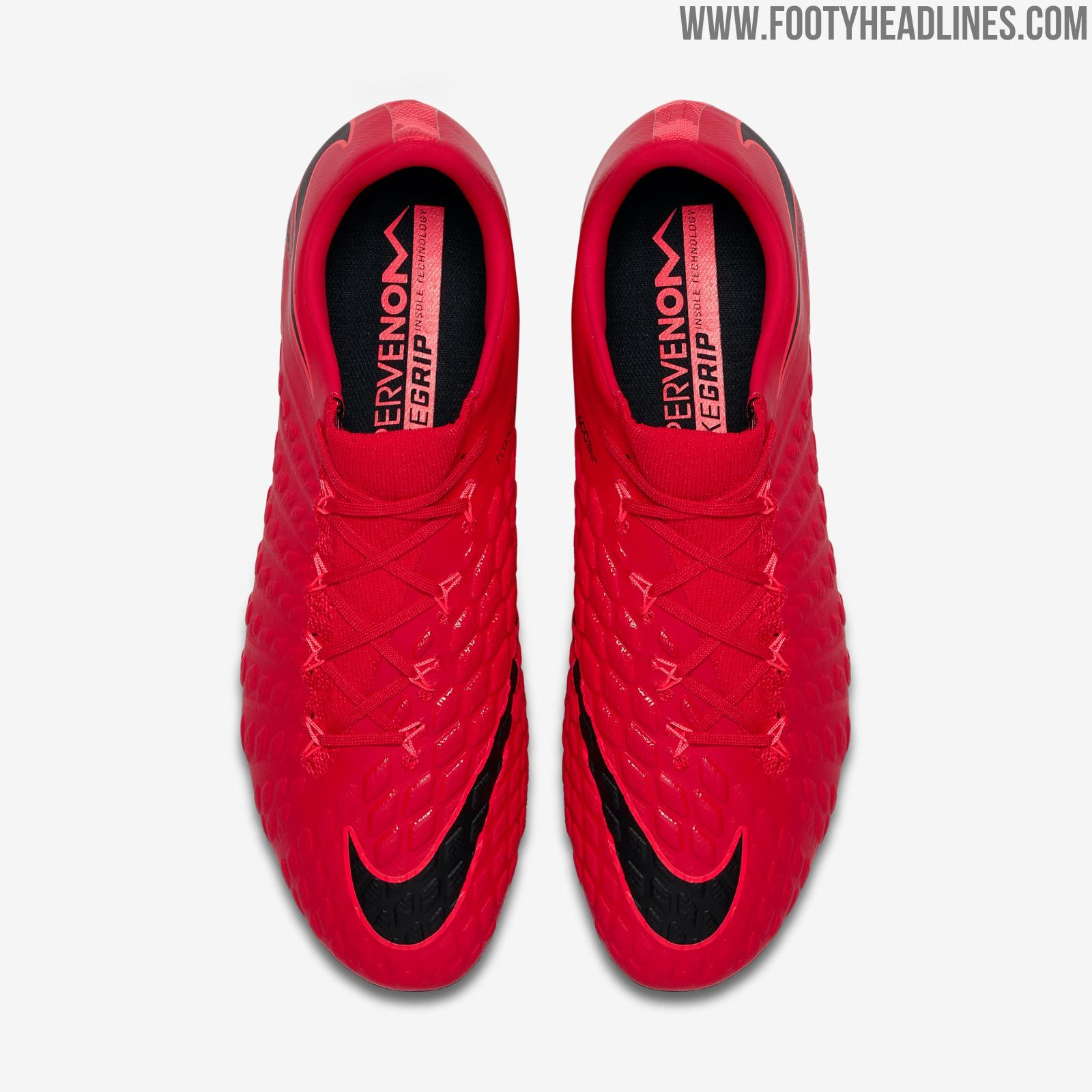 The Nike Hypervenom Phantom III football boots will receive a fiery color  update this November. d193635cd100d