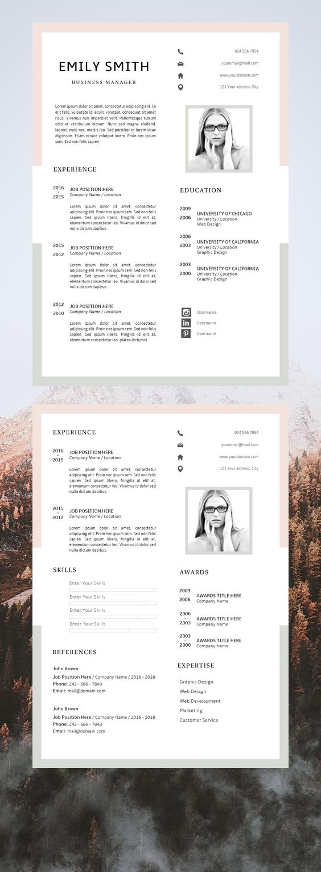 Attractive Resume Templates Amazing Resume Templates