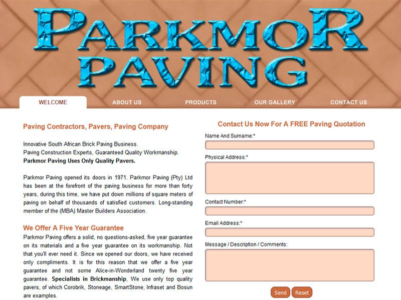 Parkmor Paving Paving Contractors Pavers Paving Company