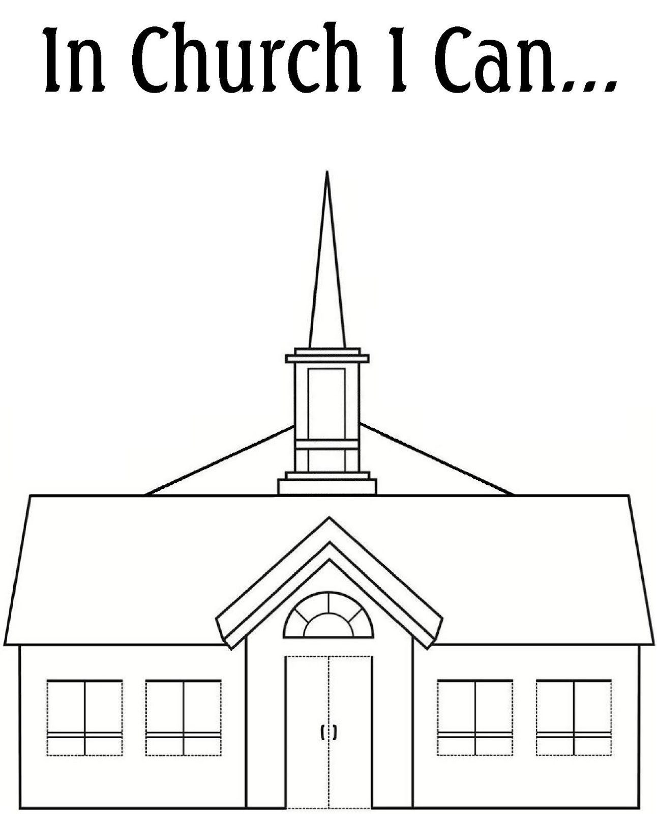 Robbygurl S Creations My Church Coloring Book