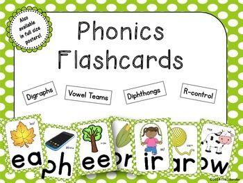 Phonics SOUND FLASHCARDS | | 2nd Grade | | Phonics sounds ...