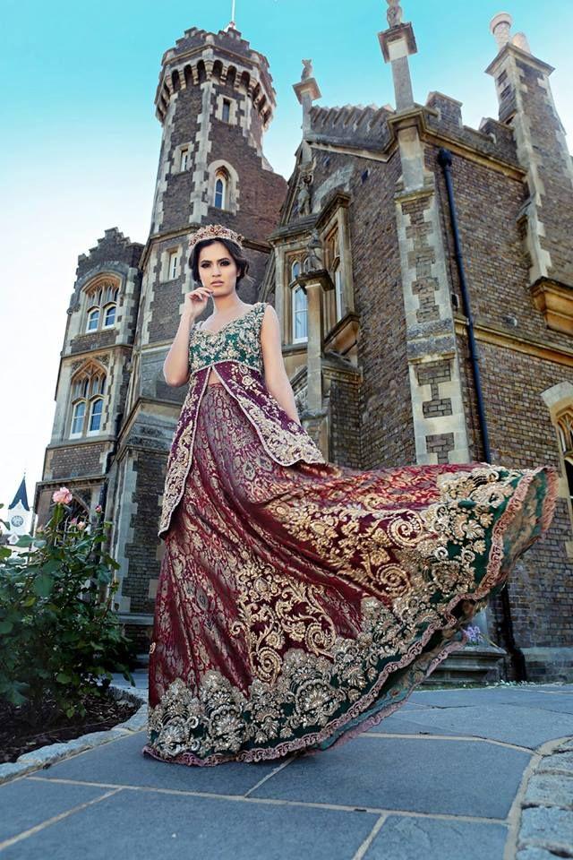 Latest Party & Wedding Wear Formal Peshwas Frocks 2021 ...