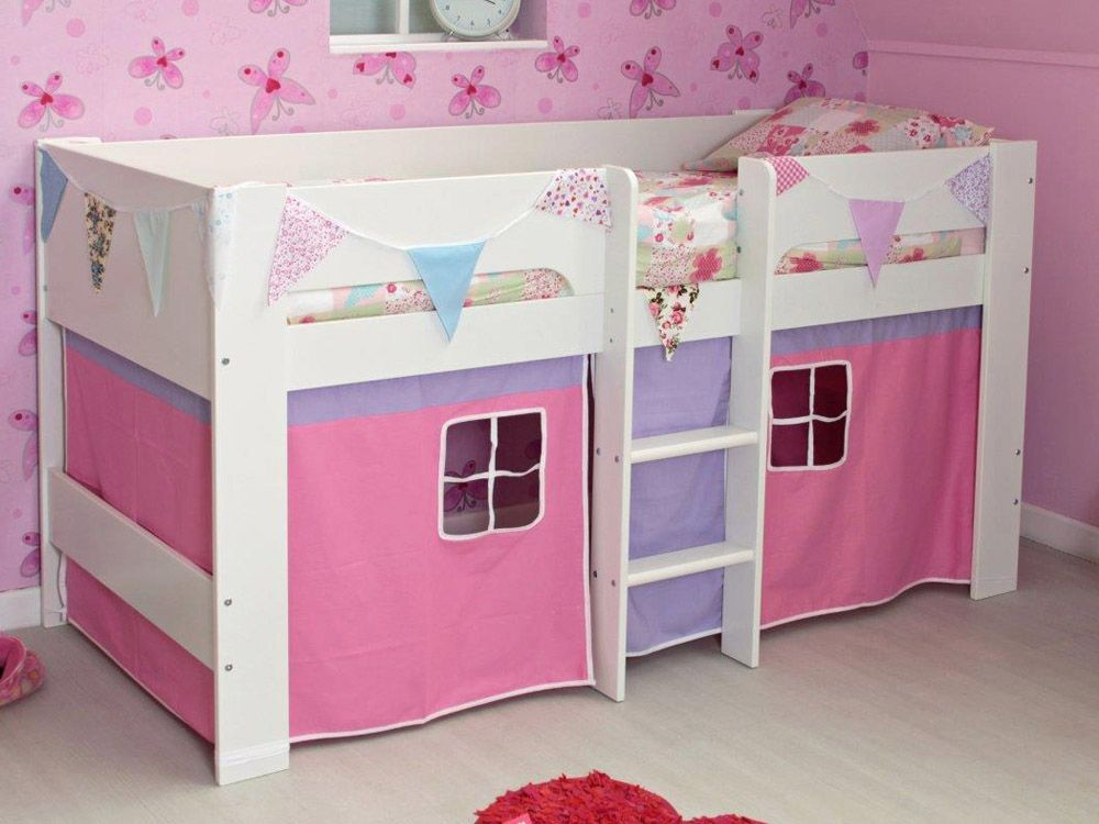 Girls Heidi midsleeper bed & Girls Heidi midsleeper bed | Amelias room | Pinterest | Bedrooms ...