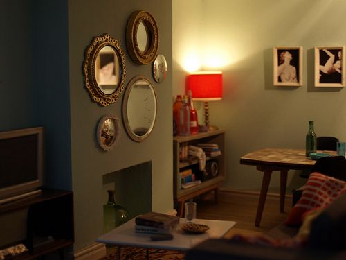 Miniaturas by annina diston casas de mu ecas modernas for Casa moderna kidkraft