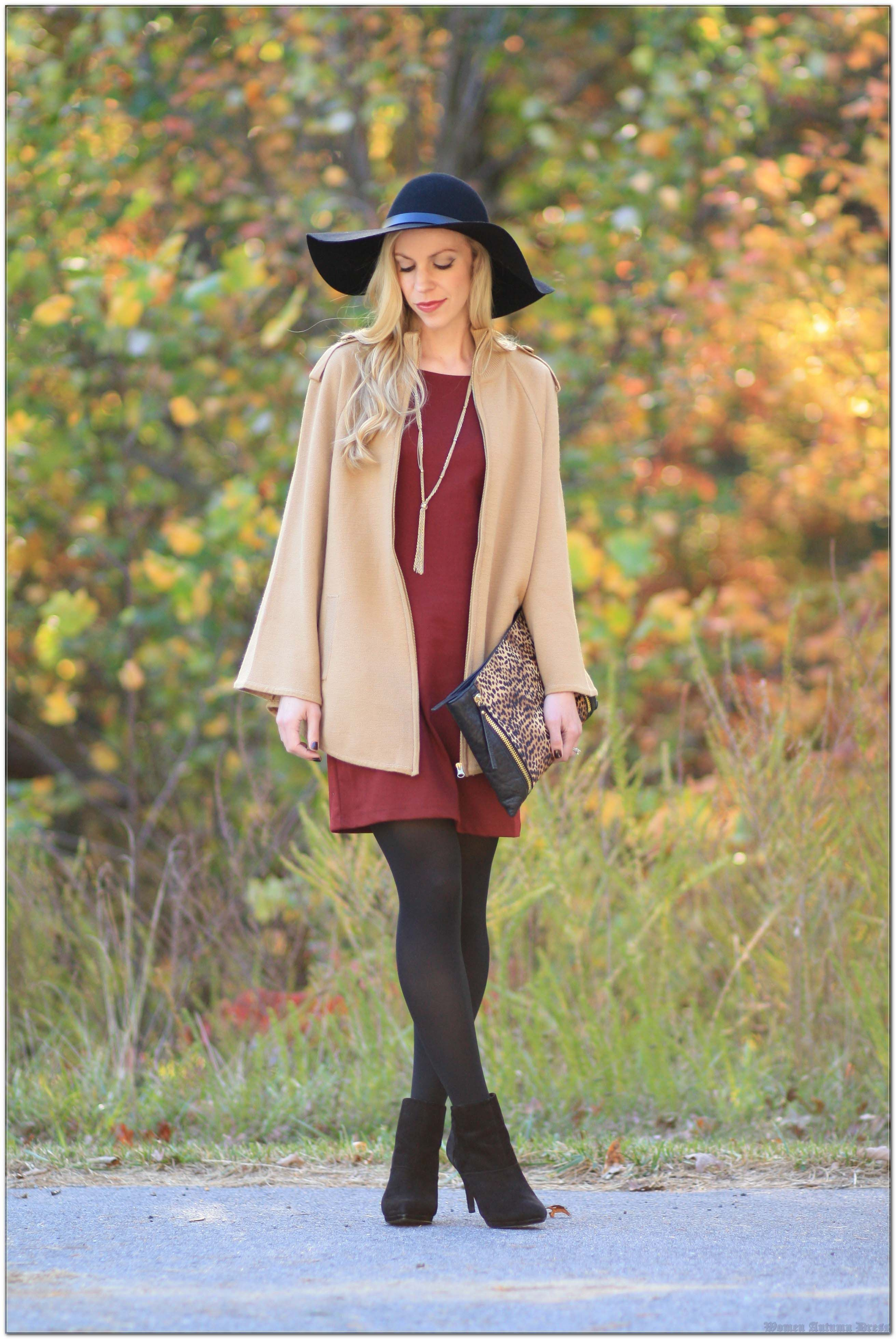 A Guide To Women Autumn Dress At Any Age
