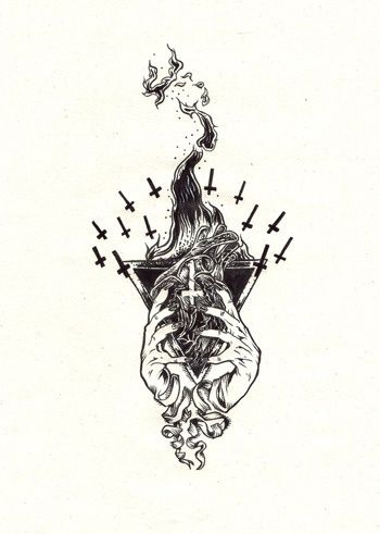 Fortifem Gothic Tattoo Art Tattoo Drawings