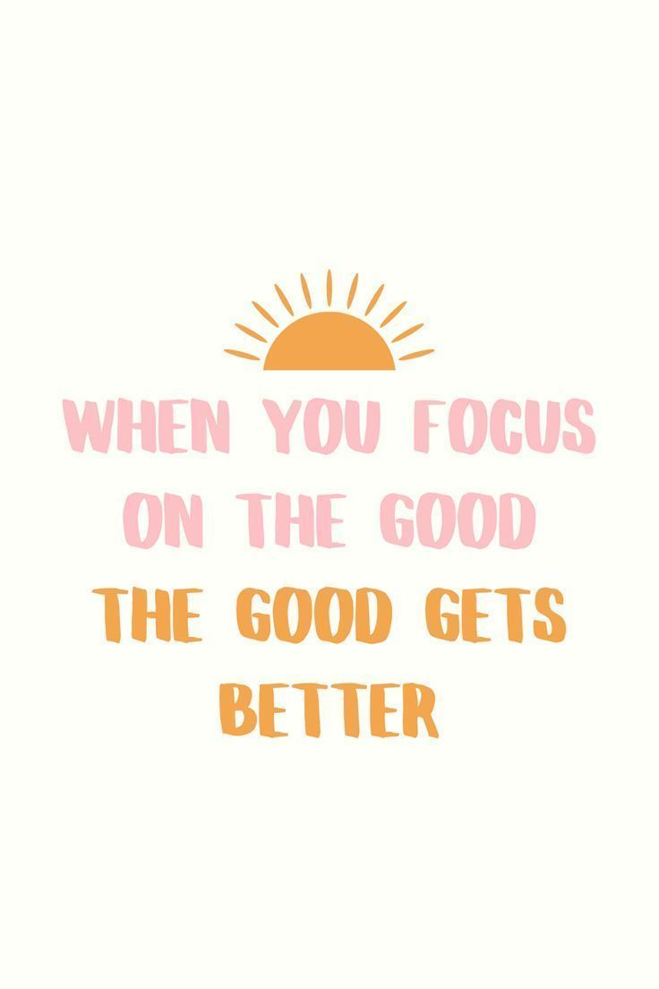 """Photo of """"When You Focus On The Good"""" Printable Quote / Shop Home Decor / Wall Art / Wall Decor / Bedroom"""