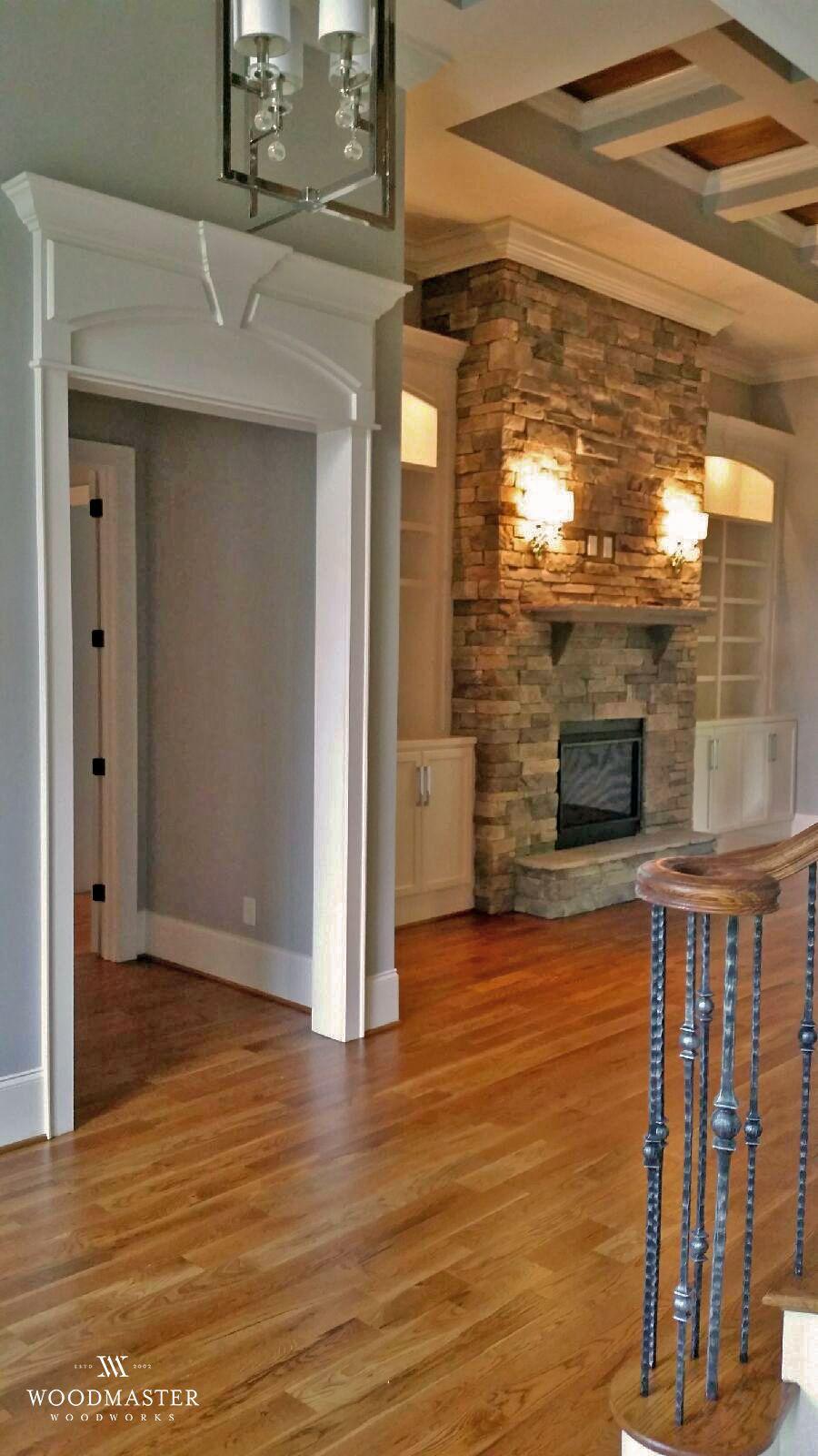 Case Opening Craftsman Trim Updating House House Trim House Flooring